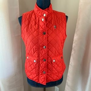 Quilted Preppy Vest